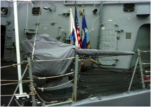25-mm gun on a US Navy ship – protected by Envelop®