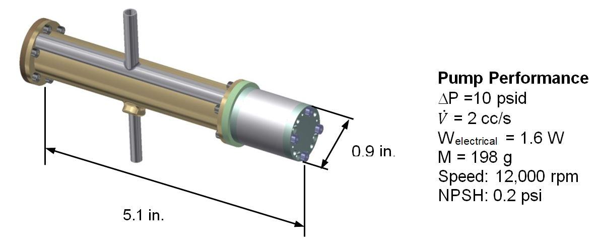 NASA Funds Creare to Design Novel Refrigerant Pump