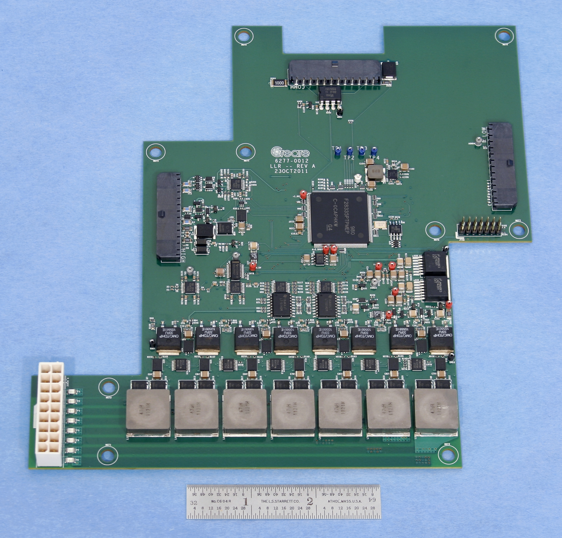 Circuit board for Creare's battery management system (BMS)