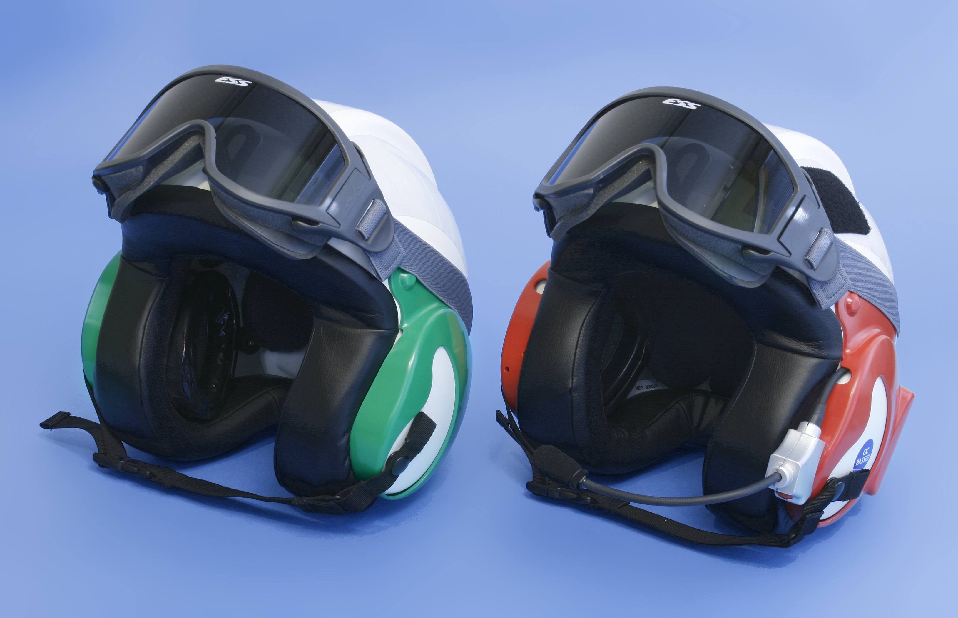 New Triple Hearing Protection helmet system from Creare