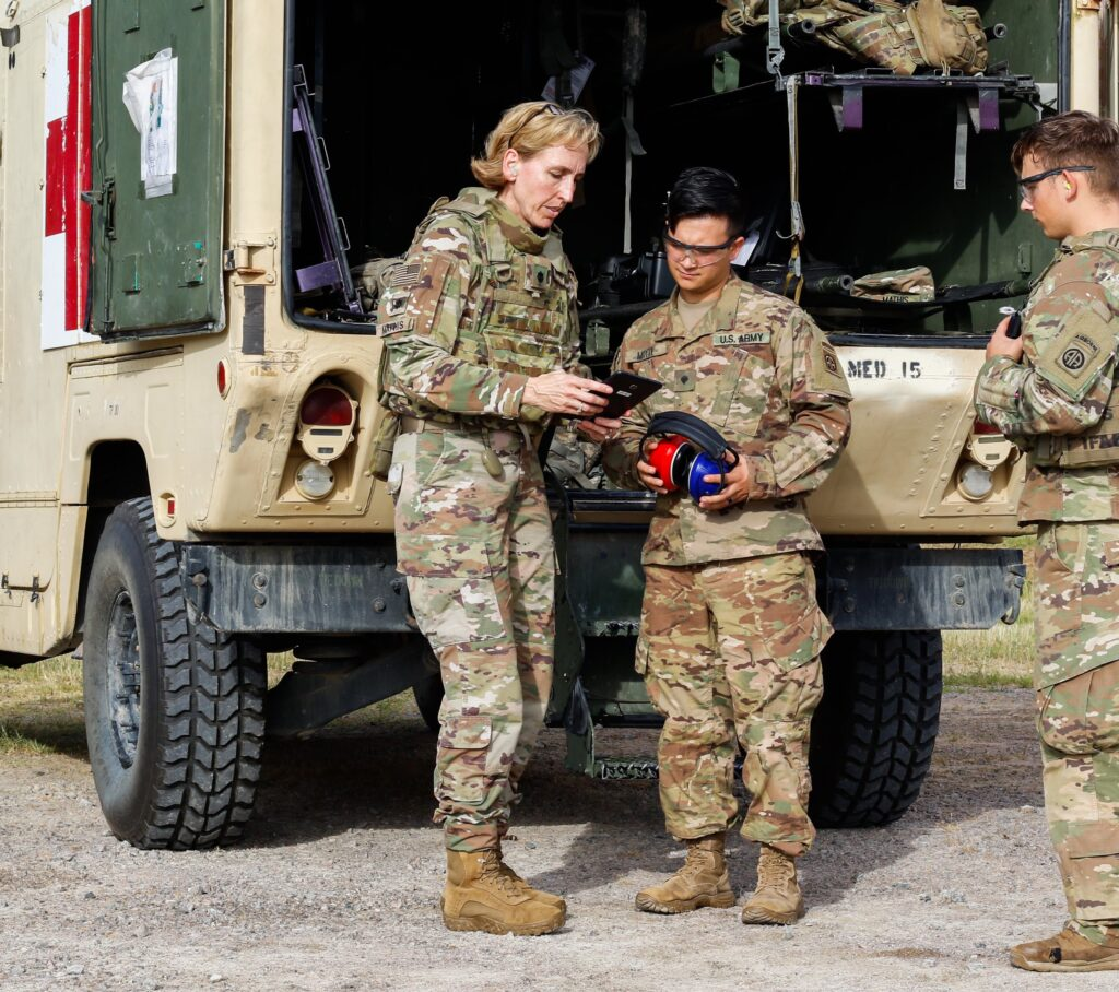 Creare's WAHTS Saves Service Member Hearing